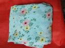 雪纺印花布料裙子碎花面料小清新夏季连衣裙垂感服装布料 菁蔻华 白底小花 1米价,