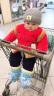 偶園嬰兒唐裝棉花棉衣套裝中國風棉褲寶寶衣服周歲生日禮服男童裝過年大紅純棉秋冬外出服女背帶6個月1-2 紅色彩鳳凰 80碼建議12-18個月 實拍圖
