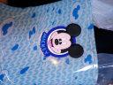 迪士尼 Disney 兒童雨鞋 學生卡通防滑閃燈雨鞋 YQ2005 藍色 33碼 實拍圖