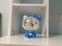 康巴絲(Compas)掛鐘古典歐式座鐘表復古靜音客廳裝飾臺鐘創意臥室床頭時鐘石英鐘 3020數字白裂紋 實拍圖