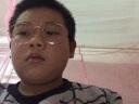 亨亞晟韓版復古文藝橢圓大框裝飾眼鏡架男女時尚金屬平光鏡眼鏡 金色 實拍圖