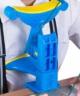 坐姿矯正器學生兒童視力保護器糾正寫字姿勢護眼架糾正看書閱讀姿勢防駝背防近視架閱讀架 升級旋鈕版坐姿矯正器(藍色) 實拍圖