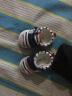 拉拉豬(lalazhu) 春秋季兒童鞋男寶寶嬰兒軟底學步鞋女童機能鞋1-3歲2布鞋小童透氣防滑鞋子一 藏藍白 19碼/內長13cm(適合腳長12cm) 實拍圖