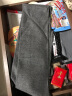 皓頓(HAUTTON)男士圍巾長薄款純色保暖韓版男女圍脖 WJ09 灰色 實拍圖