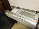 松下(Panasonic)498升多门冰箱 无边框玻璃门 自动制冰 银离子抗菌除味 雅致白 NR-EF50TX1-W 晒单实拍图