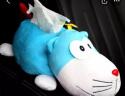 卡萊飾 車載紙巾盒 汽車掛式遮陽板扶手箱車上抽紙盒餐巾紙盒車內創意卡通汽車用品 飛貓版 實拍圖
