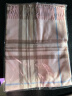 上海故事格子羊毛圍巾男士女士秋冬季保暖披肩情侶款圍脖 177070粉色(170cm*33cm) 實拍圖