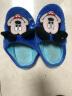 DISNEY 迪士尼兒童棉拖鞋男童女童舒適保暖棉鞋  中童寶藍32-33碼 4204 實拍圖