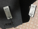 鱷魚恤女士100%山羊絨針織半高領打底毛衣女基礎款純羊絨衫 中灰 165/88A(100cm) 實拍圖