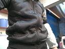 【特惠兩件套 加絨外套+長褲】男士加絨款保暖套裝時尚休閑運動套裝 1737黑色 XL-【建議110-125斤】 實拍圖
