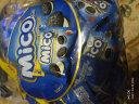 马来西亚原装进口零食迷你mico小黑饼干夹心奶油mini儿童曲奇休闲超市零食品幼儿园分享一袋376g 奶油味(蓝) 1袋376g(约74-80小包) 实拍图