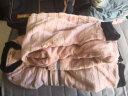 南極人 睡衣女加厚法蘭絨情侶睡衣男秋冬長袖珊瑚絨立領開衫家居服套裝N675X21042-4 女時尚字母XL 實拍圖