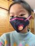 霍尼韋爾(Honeywell)口罩 H950V-G10靚呼吸萌寵版女孩 10只/盒兩色 KN95防塵防顆粒物折疊式防霧霾口罩 實拍圖