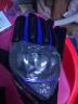 賽羽SCOYCO摩托車騎行手套夏季透氣防摔護殼全指機車手套男可觸屏 MC44 MC44藍色(全指款) XL 實拍圖