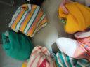 南極人(Nanjiren)兒童襪子 男童女童寶寶四季舒適中筒襪子5雙裝棉襪 黃色XL 實拍圖