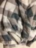 南極人(Nanjiren)N8R5X20131 睡衣家居服加厚情侶珊瑚絨睡衣男女秋冬季長袖格子法蘭絨家居服套裝 男款XL 實拍圖