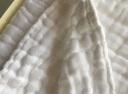全棉時代 手帕口水巾禮盒裝水洗紗布嬰兒手帕 5層紗布 25*25cm 藍粉白 6片/盒 實拍圖