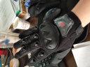 賽羽SCOYCO越野摩托車防摔手套四季款透氣騎士裝備電動車騎行手套MC44 MC29 黑色 全指款 XL 實拍圖