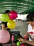 晟旎尚品 情人節表白扎氣球專用彩帶絲帶 氣球繩子配件 90米一卷 粉紅色 實拍圖