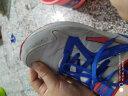 鴻星爾克童鞋男童運動鞋中大童2019秋冬復古跑步鞋兒童棉鞋鞋子男兒童旗艦店 正白/亮紅 39 實拍圖