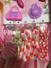 奧智嘉 夢幻依甜芭比娃娃公主換裝娃娃套裝大禮盒 時尚3D真眼洋娃娃夢幻屋 兒童玩具 女孩玩具禮物 實拍圖
