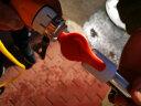 愛車樂 長柄 洗車刷子伸縮桿汽車 通水刷 軟毛帶噴水套裝擦車拖把車用刷車神器洗車工具 開關通水刷+快接頭+拖布套 實拍圖