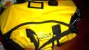 LOBOO蘿卜摩托車后尾包防水騎士裝備包摩旅騎行后座包行李包駝包 90升黃色+快拆綁帶 均碼 實拍圖