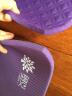 奧義 瑜伽墊 升級NBR男女加厚15mm舒適防硌健身墊 加長平板支撐墊居家運動墊子 魅力紫(新款66CM寬) 實拍圖