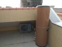 美的( Midea) 200升空氣能電熱水器 E+藍鉆內膽 家用200L電熱水器  6年包修  KF66/200L-MI(E4) 實拍圖
