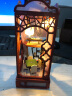 巧之匠 生日禮物女生 DIY小屋中國風創意禮品女朋友老婆男生閨蜜情侶女孩表白結婚禮物求婚 花好月圓+工具+LED燈 實拍圖