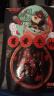 三只松鼠牛肉干肉脯零食小吃牛筋牛肉粒燒烤味小賤牛板筋120g/袋 實拍圖