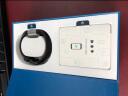 Fitbit Charge 2 智能時尚心率手環 心率實時監測 自動睡眠記錄 來電顯示 VO2Max測量 槍色小號 實拍圖