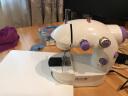 綠之源微型縫紉機 迷你家用電動多功能小型吃厚微型腳踏手工裁縫機 實拍圖