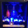 維諾卡夫 (Vinocave) 壓縮機風冷恒溫酒柜 冰吧 85瓶裝 恒溫紅酒柜 CWC-200A 配掛杯架+展示層架 實拍圖