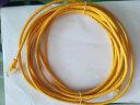 山澤(SAMZHE)超五類網線 CAT5e類高速百兆網線 5米 工程/寬帶電腦家用連接跳線 成品網線 黃色 YL-505 實拍圖