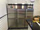 菱蒙(LnMng)商用保鮮工作臺冷藏冷凍操作臺冰柜水吧臺廚房不銹鋼臥式冷柜 1.8m*0.8m*0.8m(冷藏) 銅管 實拍圖