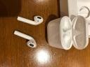 蘋果(Apple) 新款AirPods2/二代無線藍牙通用耳機 支持ipad/iphone/安卓手機 AirPods2(有線充電盒版) 套餐三:標配+充電寶 實拍圖