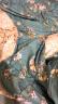 艾薇 被套家紡 純棉被罩 雙人舒適加大全棉被罩 單件 青馨花園 220*240cm 實拍圖
