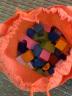 銘塔200粒建筑師積木 嬰幼兒童玩具木制質寶寶男孩女孩拼裝拼圖 1-2-3歲智力啟蒙大顆粒桶裝生日禮物 實拍圖