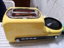 小熊(bear)烤面包機早餐機多功能多士爐家用2片吐司機三明治機帶煎鍋煮蛋器蒸蛋煎蛋DSL-A02Z1 實拍圖