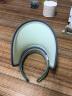 韓國VVC遮陽帽夏季女神帽戶外百搭太陽帽遮臉防紫外線兒童防曬帽子空頂帽 果綠色 可調節 實拍圖