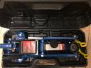 BIG RED藍色臥式液壓千斤頂2噸 汽車工具小車轎車面包車用換胎工具2T(塑盒款) 實拍圖