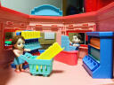 益米 兒童玩具男孩 DIY軌道組合小火車頭套裝賽車軌道汽車 聲光燈光功能 218PCS 實拍圖