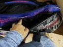 川崎KAWASAKI KAWASAKI川崎 羽毛球包雙肩背包6支裝KBB-8632 實拍圖