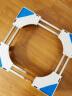 貝石(beishi)加固移動洗衣機底架托架冰箱底座架西門子美的海爾小天鵝增高防潮SF-8L4J(4雙管+8雙輪+4地腳) 實拍圖