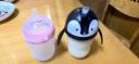 可么多么 COMOTOMO 250ml粉+企鵝吸管杯頭 新生兒寬口徑硅膠奶瓶套裝 韓國原裝進口 實拍圖