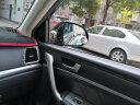 福鹿 汽車小圓鏡后視鏡 玻璃高清無邊倒車鏡 360度可調廣角輔助盲區反光鏡 小圓鏡 一對裝 實拍圖