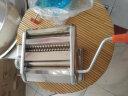 九陽(Joyoung)小型壓面機 不銹鋼手搖面條機 壓面 搟面一機多用 JYN-YM1 實拍圖