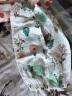 南極人寶寶防蚊褲兒童燈籠褲夏季純棉薄款男童女童春夏紗布空調褲嬰兒褲子外出長褲嬰幼兒童裝 森林-綠色 90cm(建議18-24個月,可拆襠) 實拍圖