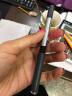 得力(deli)0.5mm黑色直液式走珠簽字筆學生考試中性筆 12支/盒S656 實拍圖